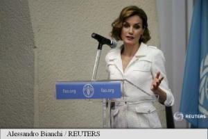 REGINA SPANIEI – LETIZIA, NUMITA AMBASADOARE A FAO, PLEDEAZA PENTRU DIETA MEDITERANEANA